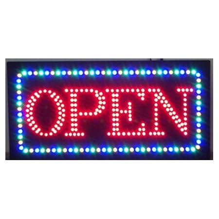 Color : AU standard, Size : 85 25cm Led Waterproof Outdoor Neon Sign Light Up 24H Open Signage Flex 3D Custom Letters for Shop Store Business Decoration