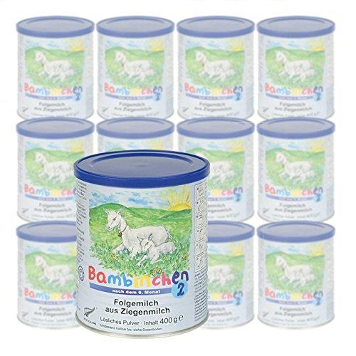 Säuglingsnahrung Bambinchen 2 günstig im Sparpack online kaufen, 12er Pack (12 x 400g)