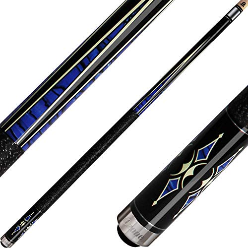 Read About Ozone Billiards Ozone Cues Knight Series Blue Points