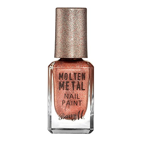 Barry M Cosmetics Molten Metall Nagel Farbe, kupfer Mine