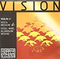 Vision ヴィジョン バイオリン弦 E線 アルミ巻 VI01 1/4