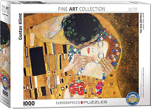 Puzzle Eurographics The Kiss (Detail) par Gustav Klimt (1000 pièces)