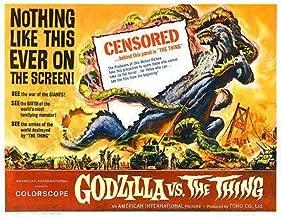 Godzilla vs the Thing - 1964 - Movie Poster Magnet