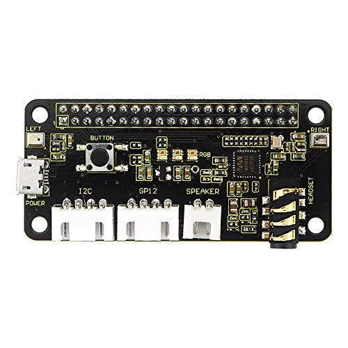Dcolor 5V ReSpeaker 2-Mic Pi HAT V1.0 Erweiterungs Karte für Raspberry Pi 4B / / W/B + / 3B + / 3B