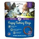N-Bone Puppy Teething Ring Pumpkin Flavor, 3.6 oz, 3 Pack