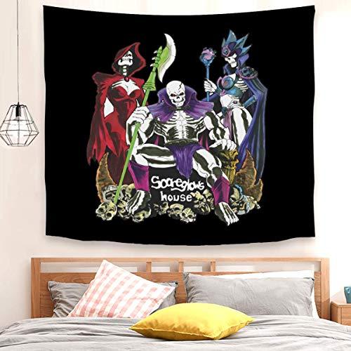Scareglow's House - Tapiz para colgar en la pared para sala de estar, dormitorio (150 x 200 cm)