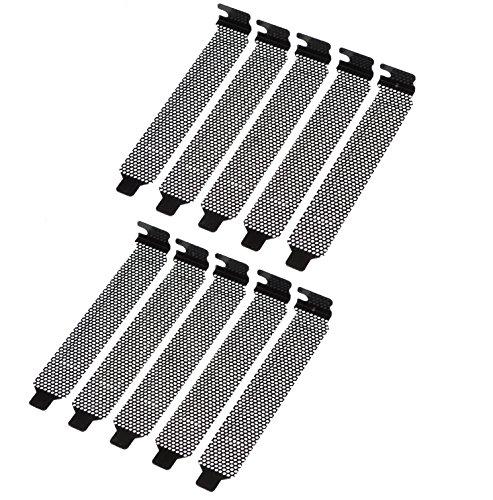 KAUMO PCIスロットカバー メッシュタイプ 10個パック ネジ無し KM-SC344