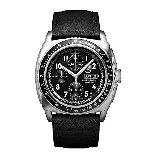Luminox Chronograph P-38 Piloten Uhr (XA.9461 / 9460 Air Serie) Made in Schweiz, Valjoux Uhrwerk, 100 Meter Wasserdicht