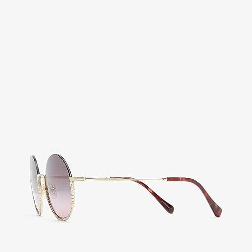 Pale Gold/Pink Gradient Grey