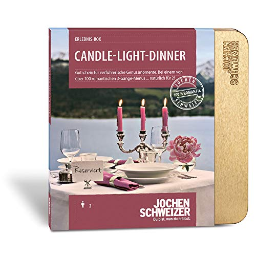 Jochen Schweizer Erlebnis-Box Candle-Light-Dinner