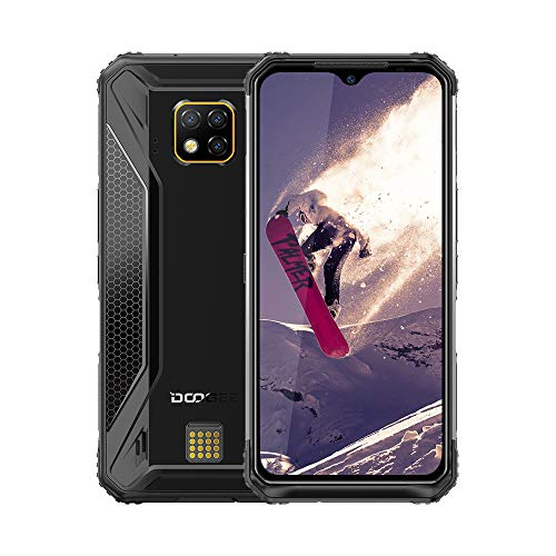 DOOGEE S95 PRO 4G Rugged Cell Phones Unlocked, IP68 Waterproof Dropproof Rugged Smartphones,Helio P90 Otca-core 8GB+128GB 6.3' FHD+ Screen Android 9.0 5150mAh Battery Wireless Charge Rugged Phone