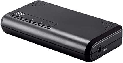 Monoprice 8-Port 10/100/1000 Mbps Unmanaged Gigabit Ethernet Switch