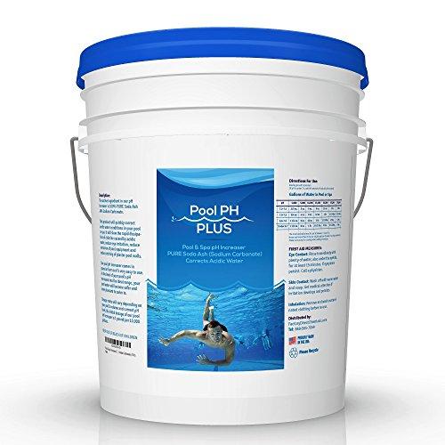 FDC Pool & Spa pH Increaser (Pure Soda Ash, Sodium Carbonate) (15 lb)