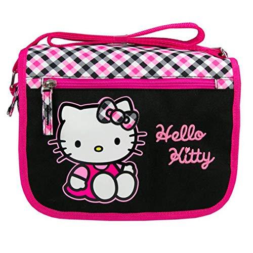 Hello Kitty [J6495] - Sac 'Hello Kitty' noir rose