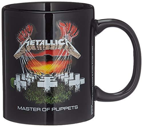 Générique MG22760 Metallica-Mug en céramique 11oz/315ml (Album Master of Puppets), Multicolor, 315 ml/11 oz