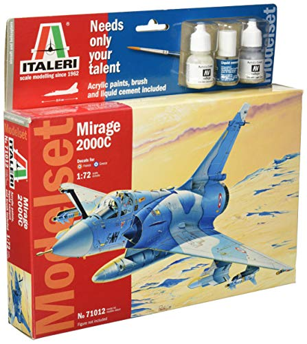 Italeri 510071012 - 1:72 Mirage 2000C, Flugzeug