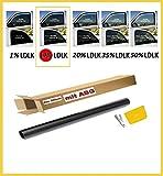50x300cm Tönungsfolie Scheibenfolie Sonnenschutzfolie Folie 17% D.B. mit ABG Scheibenfolie Sonnenschutzfolie