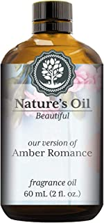 Amber Romance Fragrance Oil (60ml) For Perfume, Diffusers, Soap Making, Candles, Lotion, Home Scents, Linen Spray, Bath Bombs, Slime