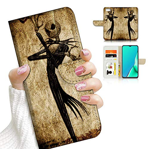 for iPhone 8, iPhone 7, iPhone SE 2 (2020), Designed Flip Wallet Phone Case Cover, A23248 Nightmare Before Christmas 23248