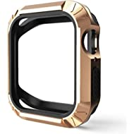 Apple Watch 4 Case 44mm / 40mm 2 in 1 Bumper Protective Shock Proof and Shatter Case for iWatch...