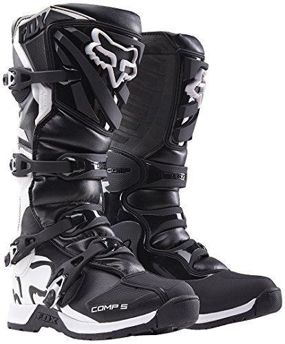 Fox Kids - Stivali da Motocross, mod. Comp 5Y, Comp 5Y, nero, 34