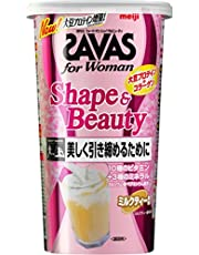 明治 SAVAS(SAVAS) for Woman 塑形 & Fitty 牛奶茶風味 [45餐量] 945克