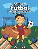 Actividad de fútbol y libro para colorear para niños de 5 años y mayor: Soccer en Español educacional para preescolar y Kinder (Spanish Edition)