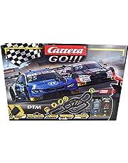Carrera GO!!! Race UP! - Juego de Pista eléctrica de Carreras (9 m, con Audi RS 5 Rockenfeller y BMW M4 Eng, con 2 Controles manuales y Piezas de trayecto, para niños a Partir de 6 años y Adultos