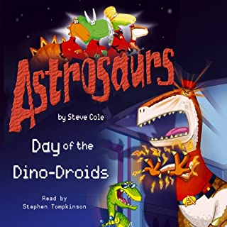 Astrosaurs: The Day of the Dino-Droids cover art