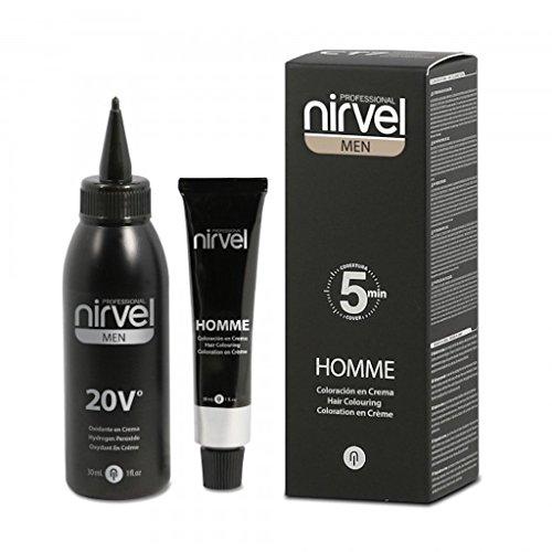 Nirvel Haarfarbe Hellbraun für Männer in 5 Min Anti Grau Tönung Grauhaarabdeckung