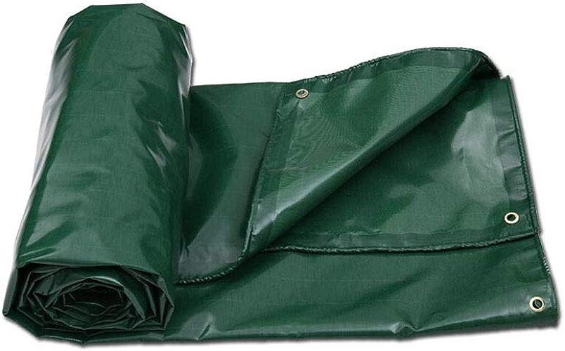CJC Bache Lourd Devoir Haute Densité 65g m2 Vert 100% Imperméable (Couleur   vert, Taille   4x4m)