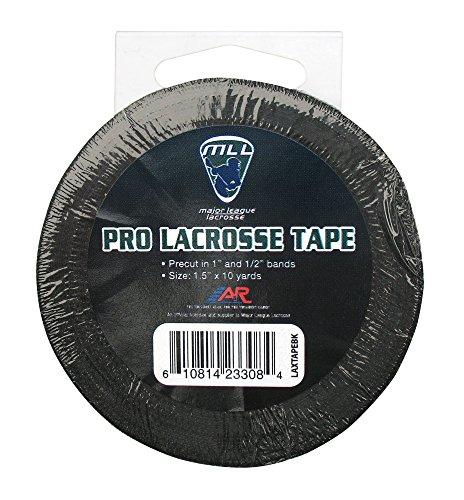 A&R Sports Major League Lacrosse Black Pro Lacrosse Stick Tape