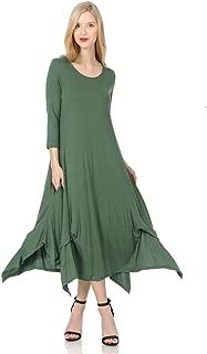 Pastel by Vivienne Women's Handkerchief Dress with Pockets