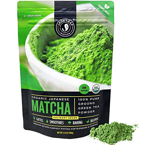 Up to 25% off Jade Leaf organic Japanese matcha green tea powder
