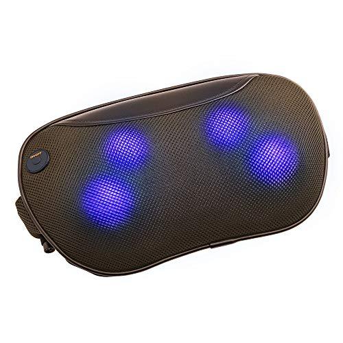 ドクターエア3DマッサージピローS(コードレス)MP-05(ブラウン)|マッサージクッション