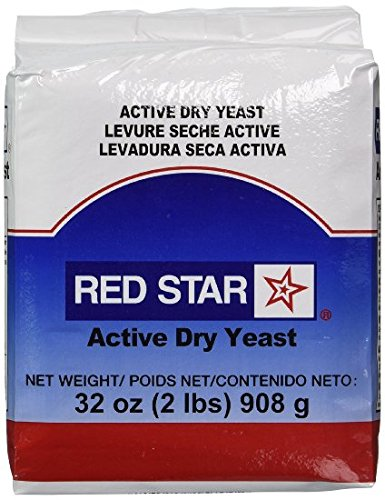 Red Star Baking Yeast, Vacuum Packed, 2-Pound ( Multi-Pack)