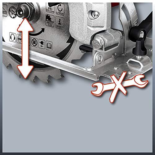 Einhell Handkreissäge TC-CS 1200 (1230 W, max. 55 mm, Sägeblatt Ø 160 mm, 24 Zähne, Parellanschlag) - 7