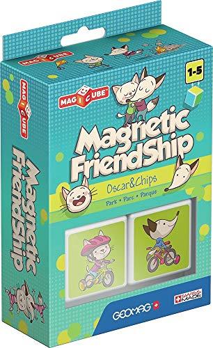 Geomag Magicube 107 - Magnetic Friendship PARK, 2 cubi