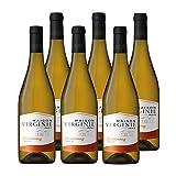 Castel Freres Maison Virginie - Chardonnay - IGP Pays d'Oc - Vin Blanc – Millésime 2019 - lot de 6 bouteilles x 75 cl