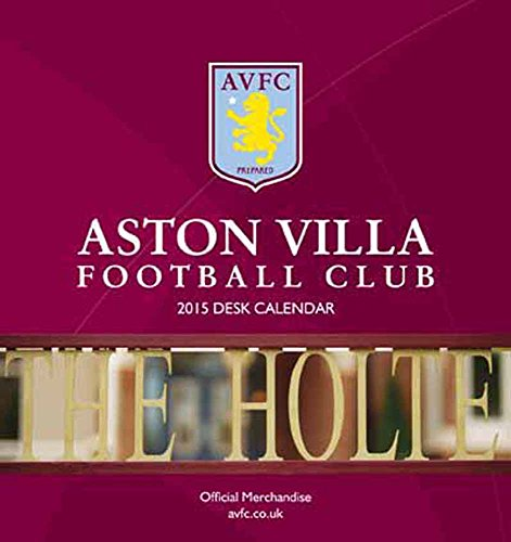 Official Aston Villa 2015 Desk Tent Calendar