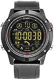 JSL Uomo s Smart Watch Impermeabile LED Tattico Orologio Digitale In Arrivo Chiamate E App Push Promemoria Sport Record Fitness Tracker