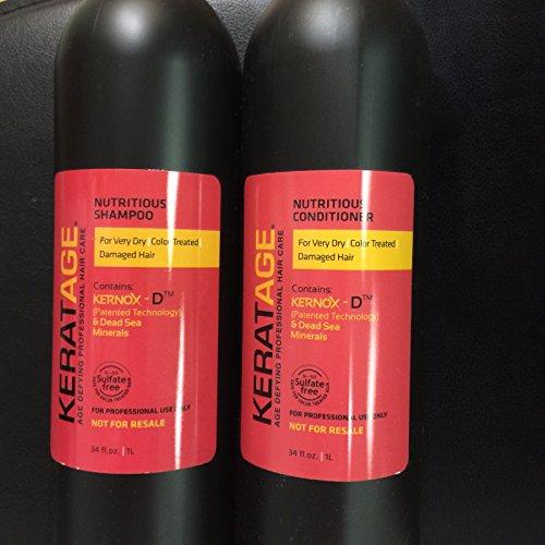 Keratage Nutritious Shampoo & Conditioner Duo (34 fl oz)