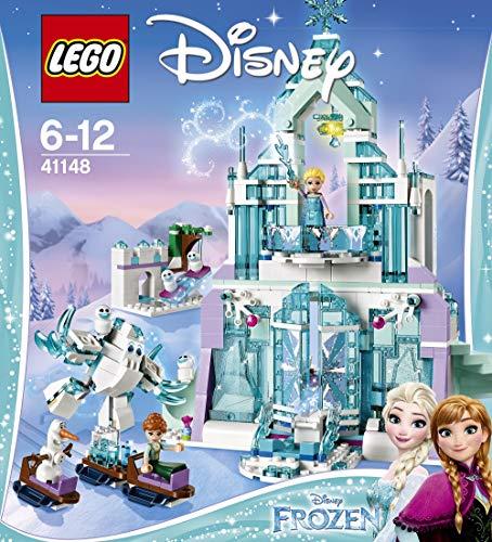 lego frozen magico castello di ghiaccio LEGO Disney Princess- Frozen Magico Castello di Ghiaccio di Elsa Giocattolo
