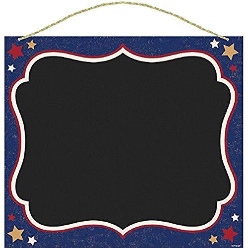 Amscan 210421 Americana Sign - Decoración para fiestas (plástico, multicolor