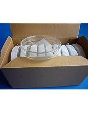 Getty - Caja de placa de Petri con tapa (10 unidades de 60 mm)