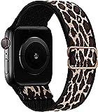 GBPOOT Correa de Compatible con Apple Watch 38mm 40mm 42mm 44mm,Correa Solo Loop Deportiva...