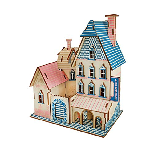 Houten puzzels 3D Jigsaw 32 Pieces Volwassen Kinderen leren om vormen te herkennen en te cultiveren Patience Spelen handgemaakte geschenken Fun Toys