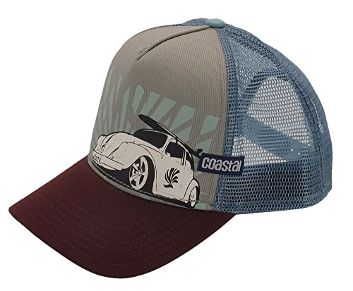 COASTAL - Low Beetle (grey) - High Fitted Trucker Cap