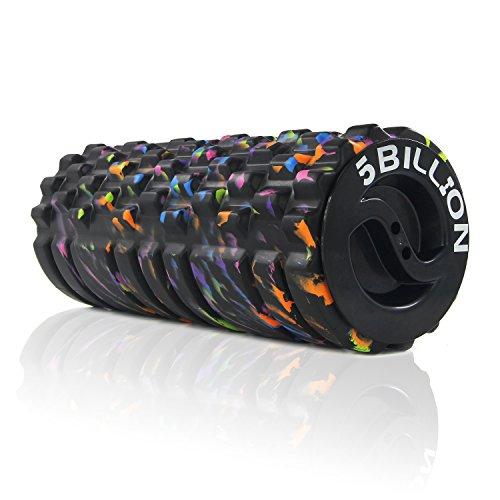 5BILLION Rodillo de Espuma Foam Roller - Galaxia - 33cm de alta Densidad rodillo de ejercicios para la terapia física - Rodillo de Masaje para la aptitud de la Cruz - Herramienta de masaje para tejido
