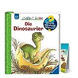 Buchspielbox Weshalb? Warum? Junior Le dinosaure + poster dinosaure + livre pour enfants à partir de 2 ans